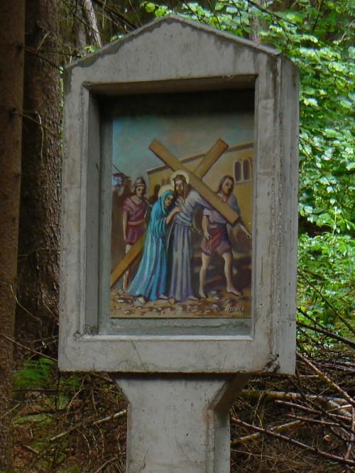 IV. zastavení křížové cesty - Ježíš se setkává se svou matkou