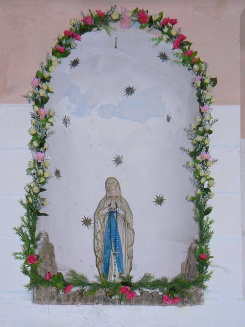 Soška Panny Marie